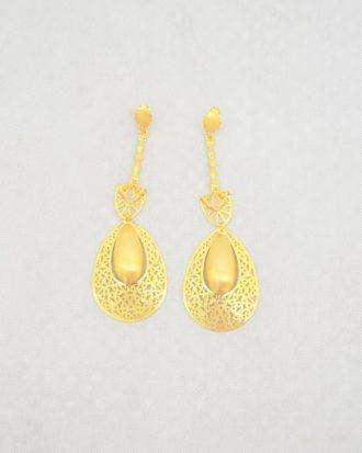 Unique Gold Drop Earring
