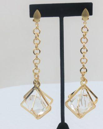Flirty Diamond Drop Earring- RESTOCKED!