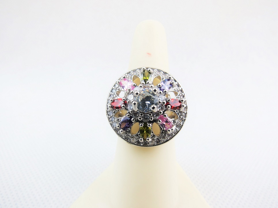 Crystal Cluster Ring.