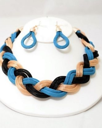 Woven Costume jewelry set