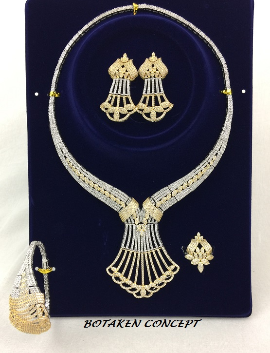 CUBIC BRIDAL / WOMEN OCCASION SET. HIGH QUALITY.