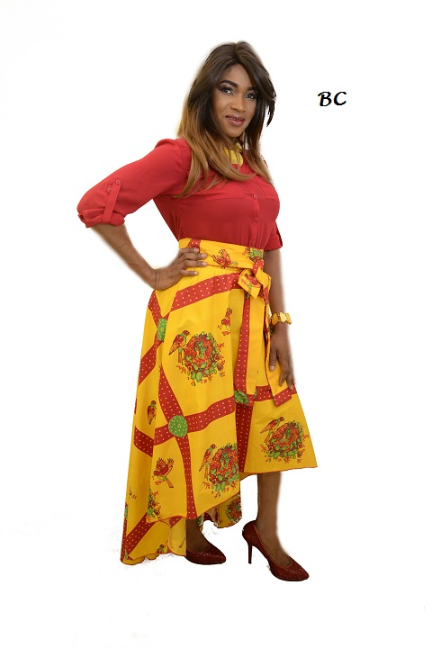 CLASSY SASSY HIGH LOW SKIRT, ALSO AVAILABLE IN PLUS SIZES...... RESTOCKED!