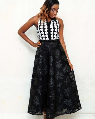 BORN TO LEAD A-LINE SKIRT, LONG