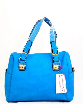 Lillian  Treasures Tote Handbag, Blue