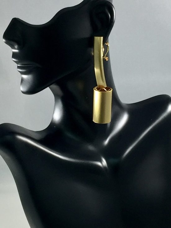 The Right Path Gold Earring.