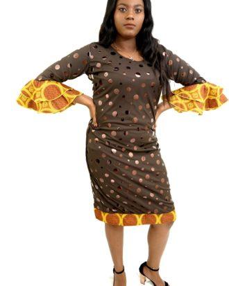 CHIC SENSATION SHORT DRESS.