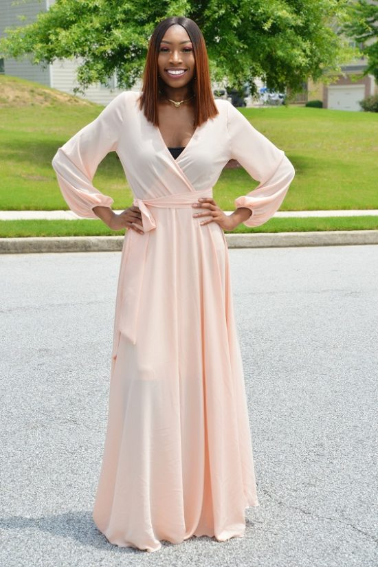 BC'S FLAWLESSLY UNFORGETTABLE MAXI DRESS.