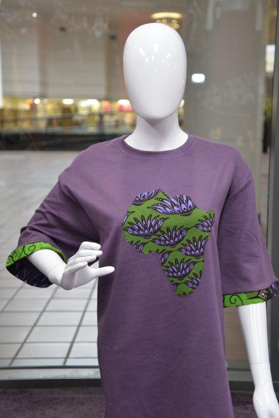 African Print T-Shirt